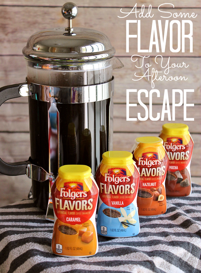 #RemixYourCoffee with new Folgers Flavors in Hazelnut, Vanilla, Mocha, or Caramel. Just add a squirt for instant flavor in any coffee beverage! #IC (ad)