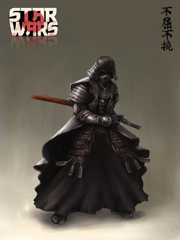Dibujo de Darth Vader