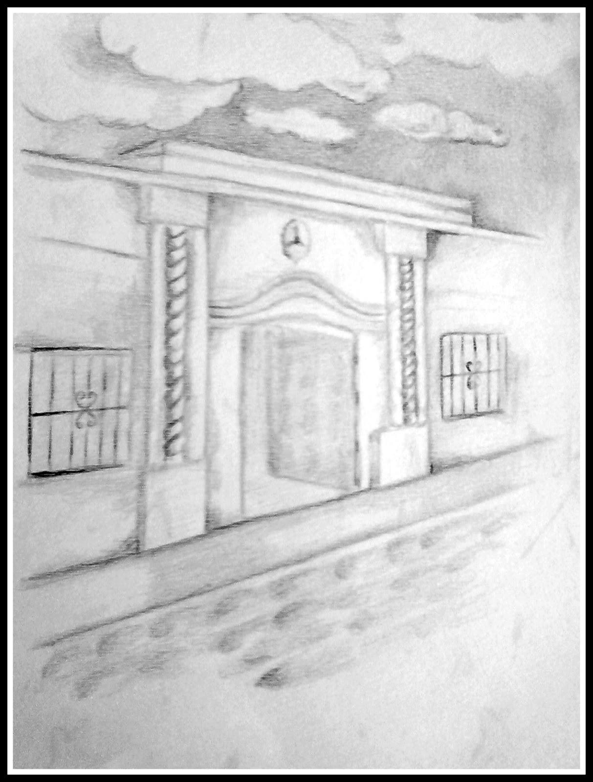 Dibujos para pintar Casita de Tucumn