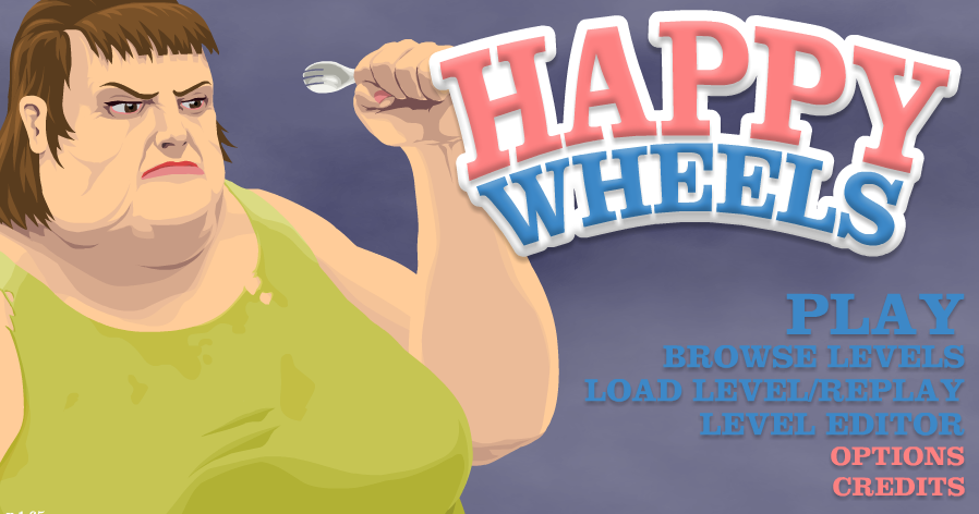 happy wheels flash download