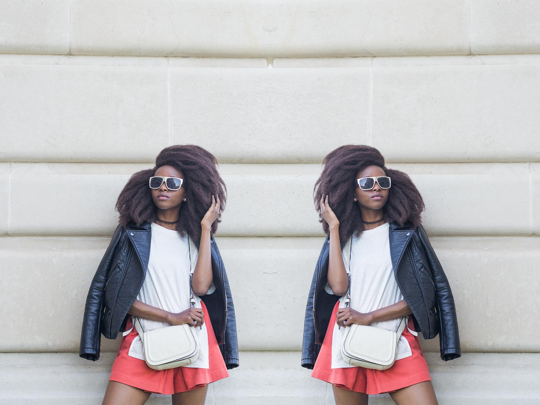 Zara jacket, H&M Culottes,