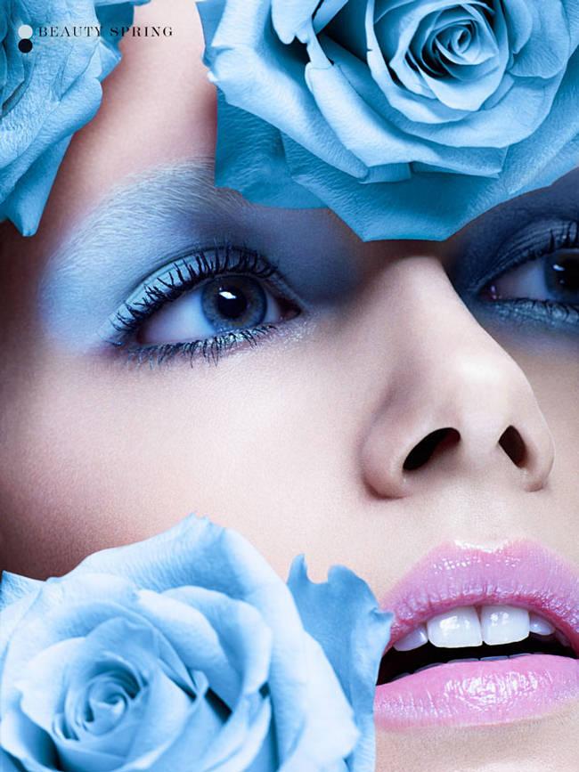 Floral Beauty Makeup
