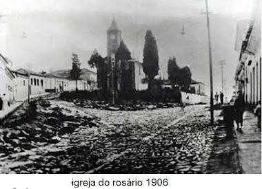 IGREJA DO ROSARIO EM 1906