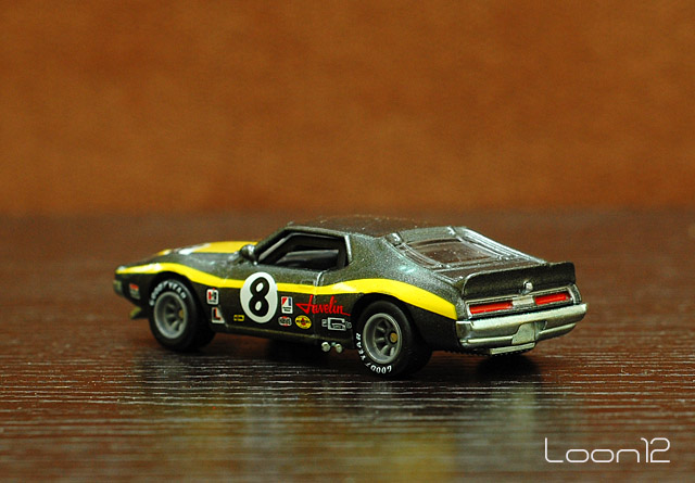 Red Dot Die Cast Collection: Hotwheels 71 AMC Javelin AMX