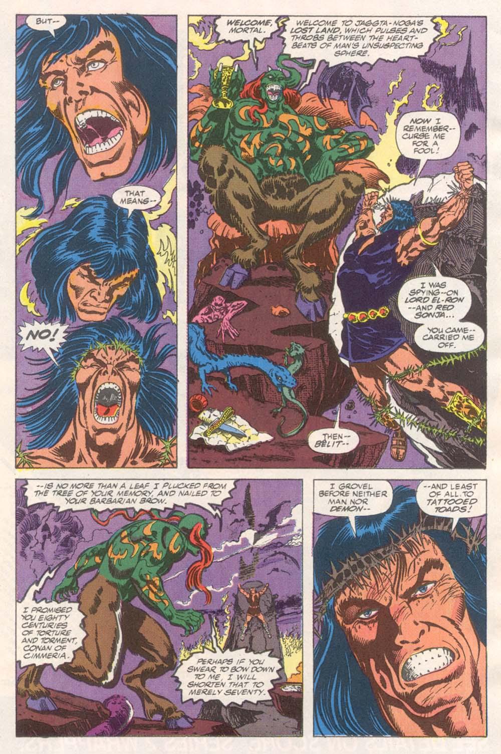 Conan the Barbarian (1970) Issue #243 #255 - English 8