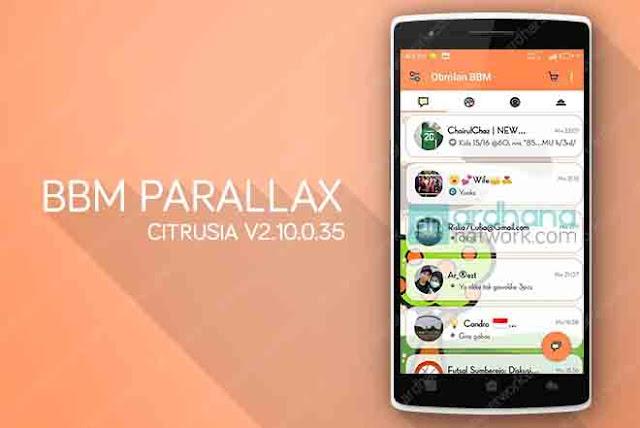BBM Parallax Citrusia V2.10.0.35