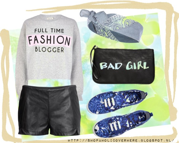 Summer Outfits River Island Full Time Fashion Blogger Sweatshirt
