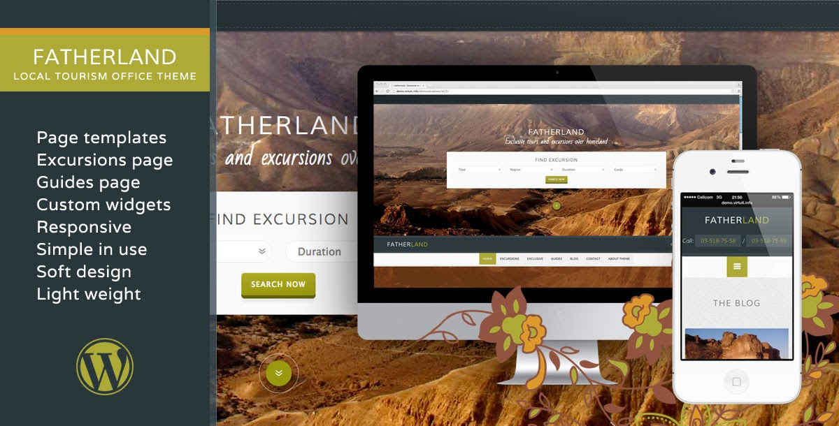 Fatherland WordPress Theme