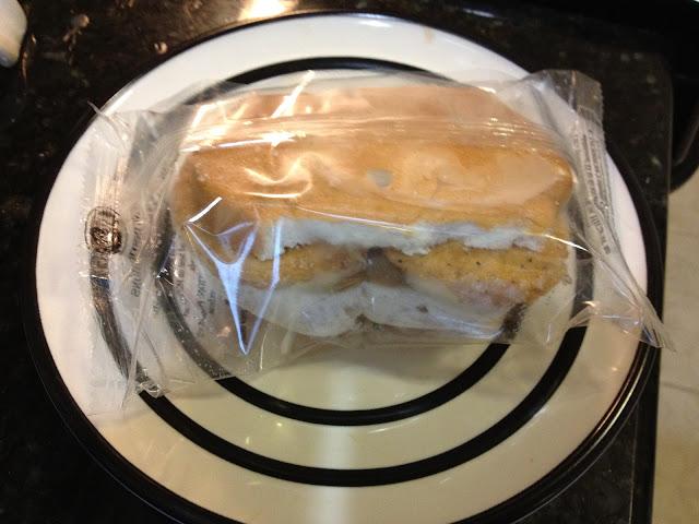 Breakfast Chicken Sandwich