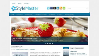 Download StyleMaster Blogger Template