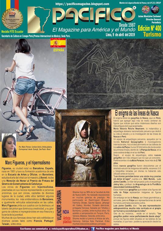 Revista Pacifico N° 400 Turismo