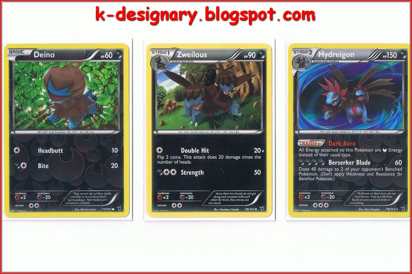K-Designary: Pokemon Cards
