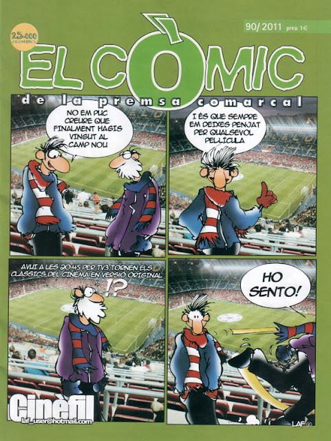 el còmic de la premsa comarcal