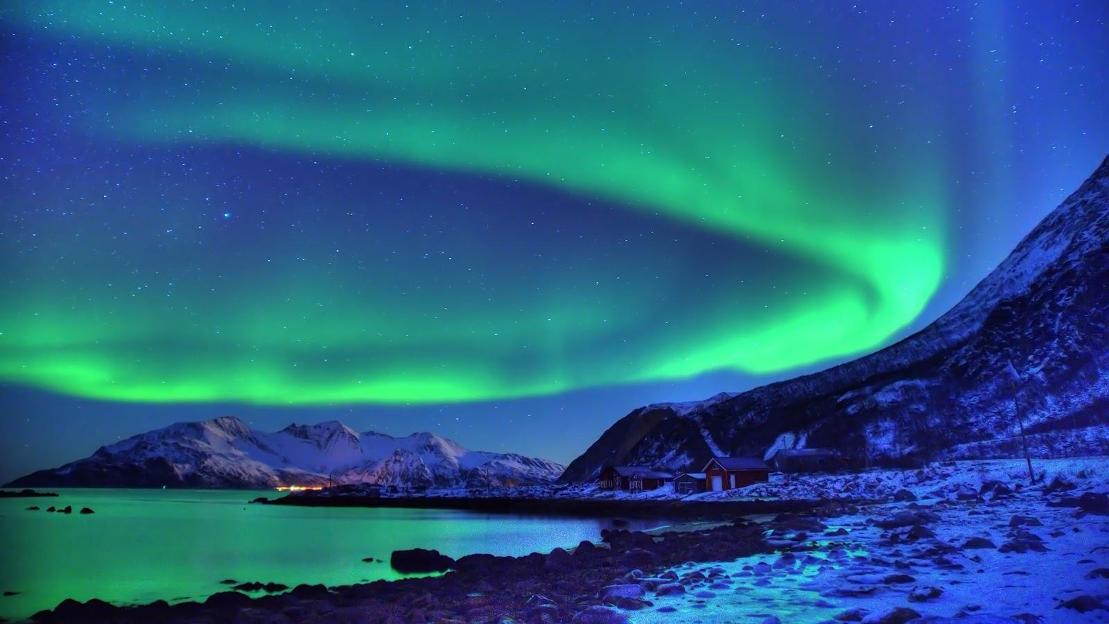 Aurora boreale raccolta immagini sfondi sfondi for Sfondi aurora boreale