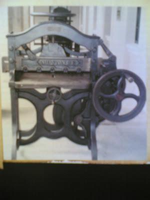 ماكينة طباعة الحروف الهيروغليفية من مقتنيات القرية الفرعونية