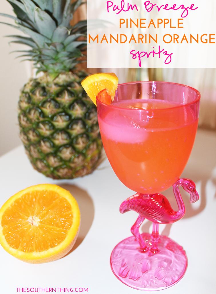 Palm Breeze Pineapple Mandarin Orange Spritz Recipe
