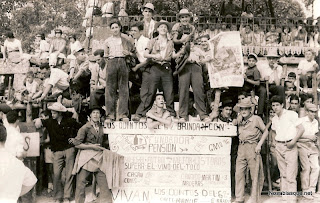 Quintos de Candelario Salamanca de 1962 en los toros