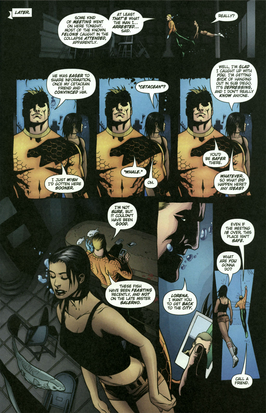 Aquaman (2003) Issue #21 #21 - English 21