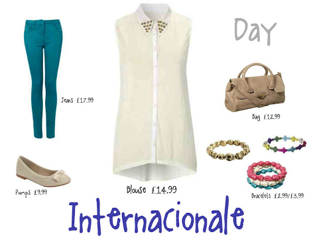 Internacionale, coloured denim