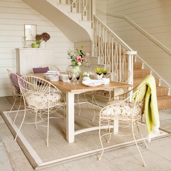 New Home Interior Design Country Hallway