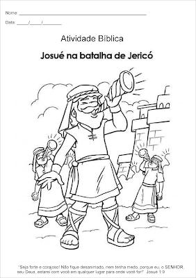 Josué na batalha de Jericó