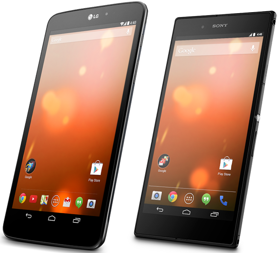 Sony Xperia Z Ultra VS. LG G Pad 8.9 Google Play Edition