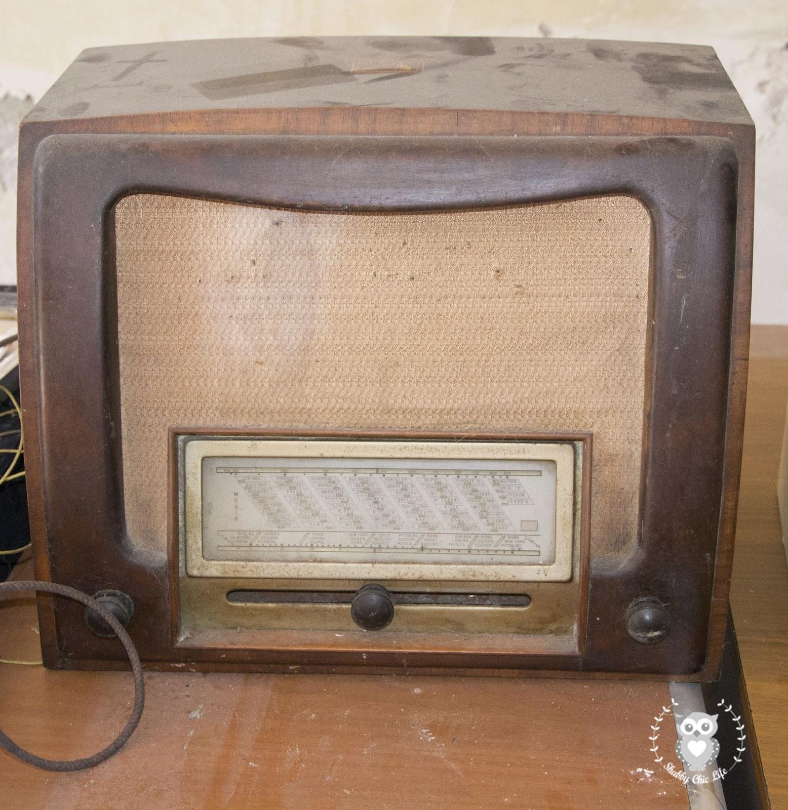 radio antica 1940