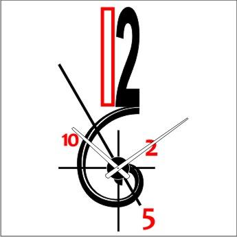 Relojesyvinilos 2015 - Reloj pegado pared ...