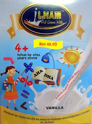 Susu Ilham 4 Tahun ke atas (Vanilla)