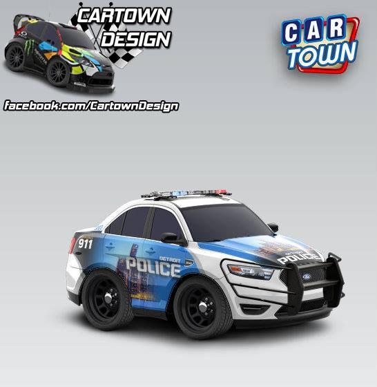 Ford Taurus SHO 2012 Detroit Police