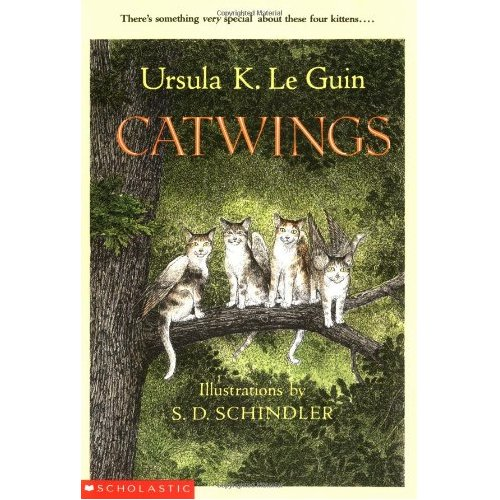 Catwings by Ursula Le Guin - Carol Hurst