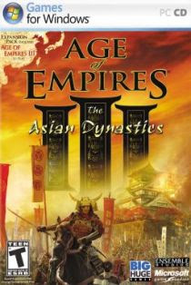 Cover Age of Empires III : The Asian Dynasties | www.wizyuloverz.com
