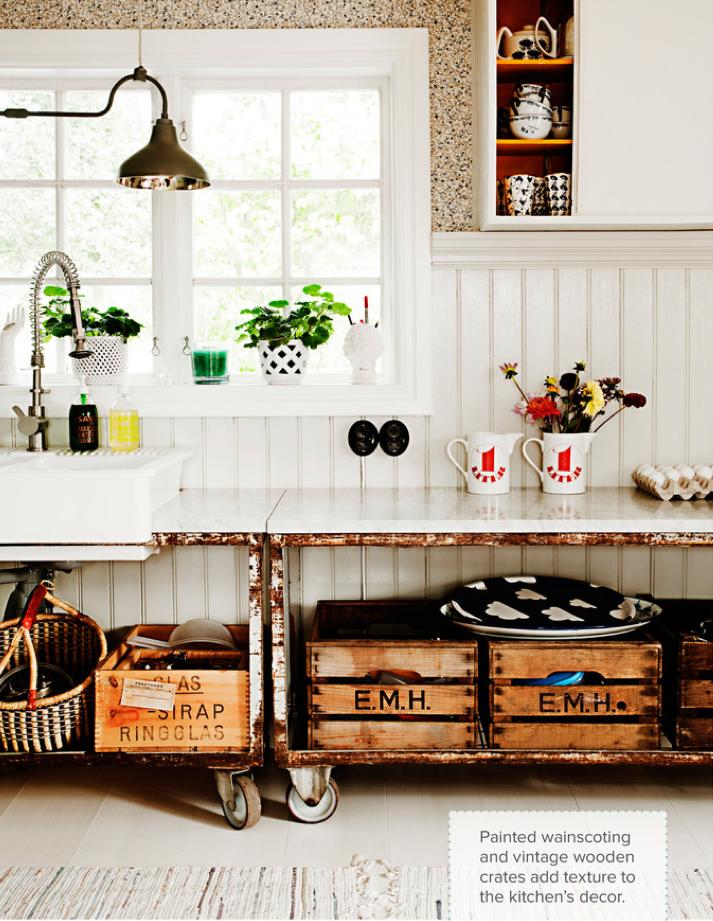 Decoracion De Baño Reciclando:Vintage Kitchen