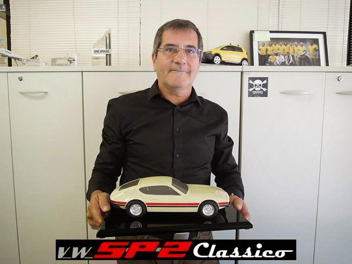 Maquete Volkswagen SP2