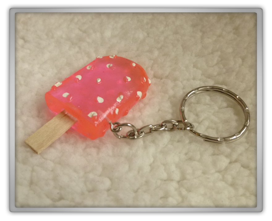 Blippo haul review shoplog keychian popsicle style 3 pink 2 kawaii review