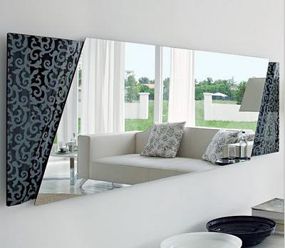 Decorar con espejos ideas para decorar dise ar y for Espejos altos decoracion