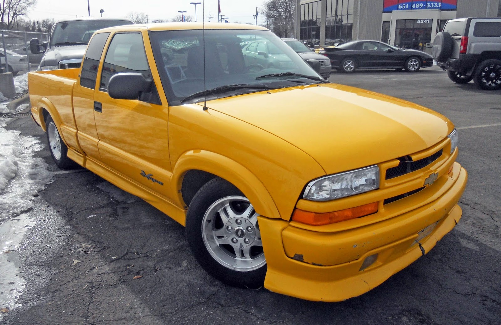 This eye catching little rig is a 2002 Chevy S-10 Xtreme. Consider it ...
