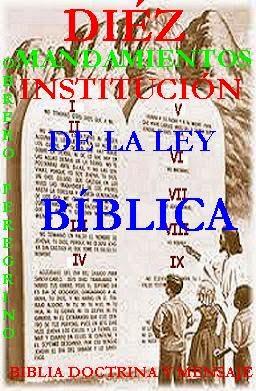 BIBLIA DOCTRINA Y MENSAJE