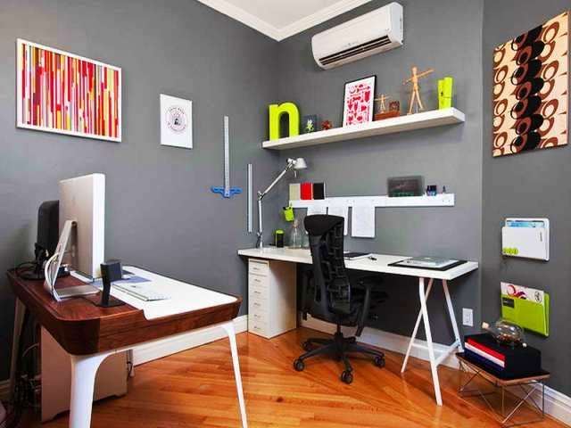 Painting Ideas For Home Office Entrancing Decorating Inspiration