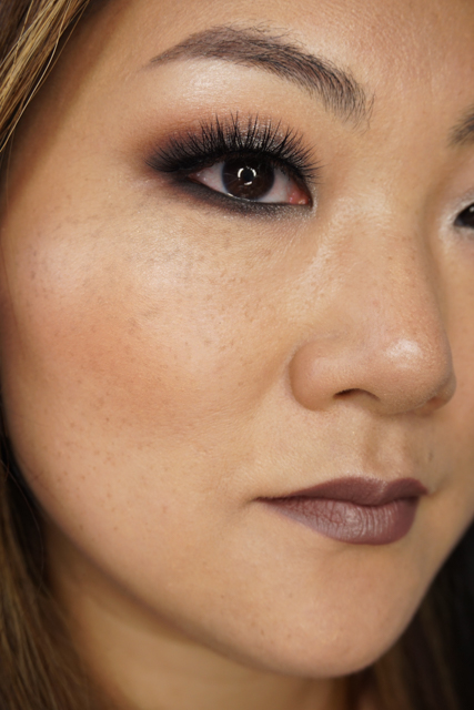 Anastasia Beverly Hills Shadow Couture World Traveller palette smokey look makeup tutorial