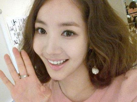 Park Min Young สวัสดีปีใหม่ด้วยภาพอันน่ารัก