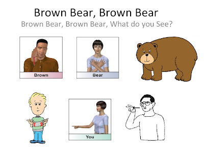 ASL Brown bear