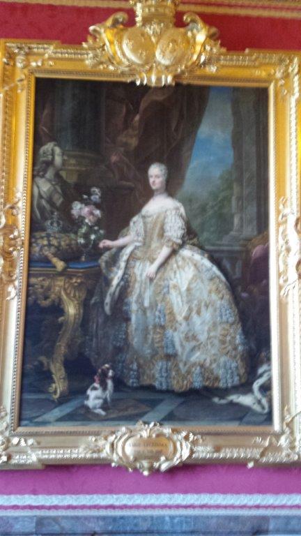 My french easel salon de venus palace of versailles for Salon de marie