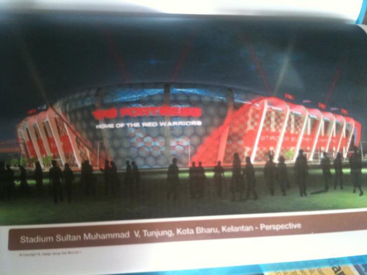 Stadium Baru Kelantan 2012