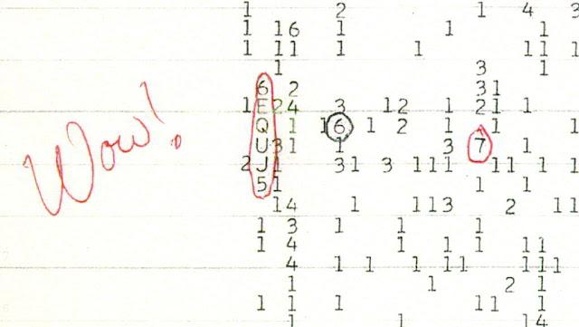 اشارة واو في الورقة التي سجلها جيري إيهمان - Wikipedia