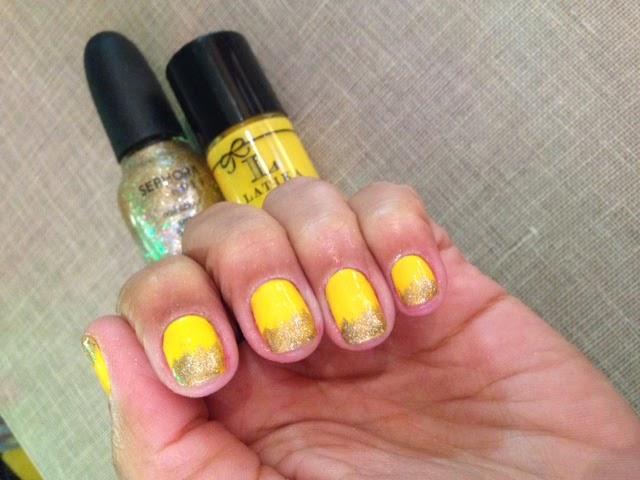 Esmalte Amarelo Swiss Lemonade Latika+ Glitter Sephora na Luxomania