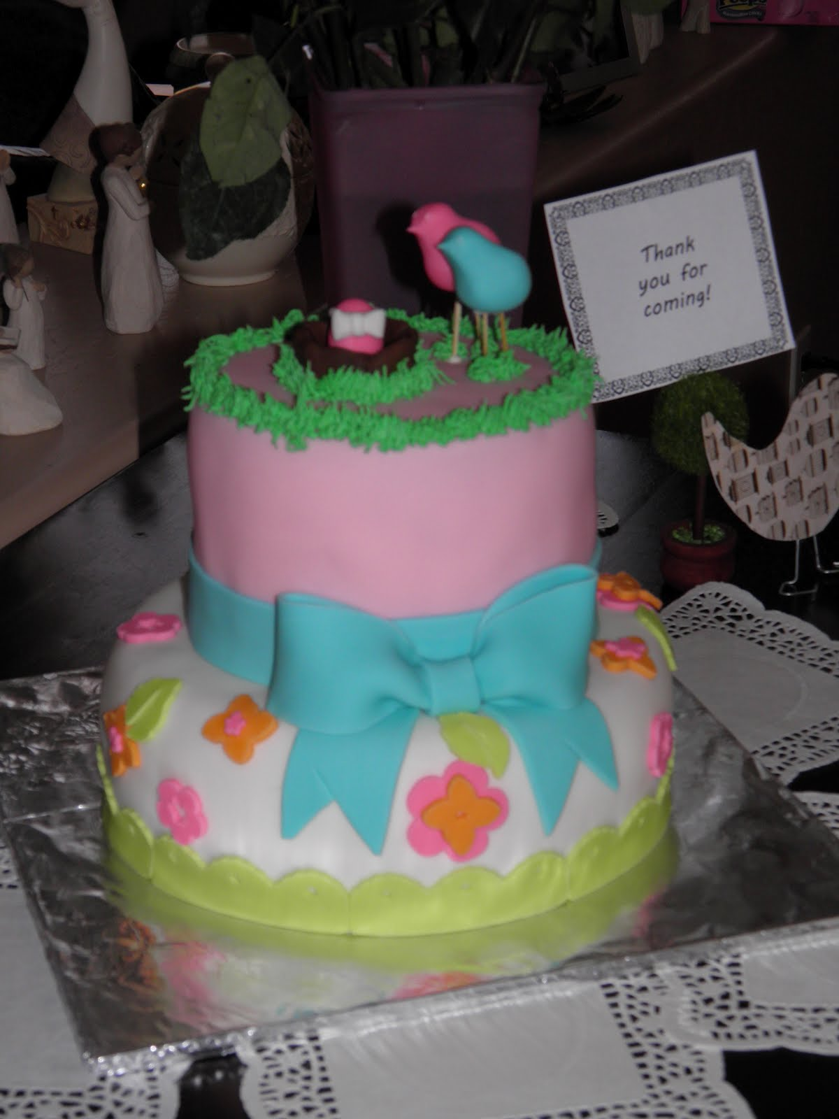 Katys Kreative Cakes: Birdies Baby Shower