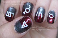 30 Seconds to Mars manicure