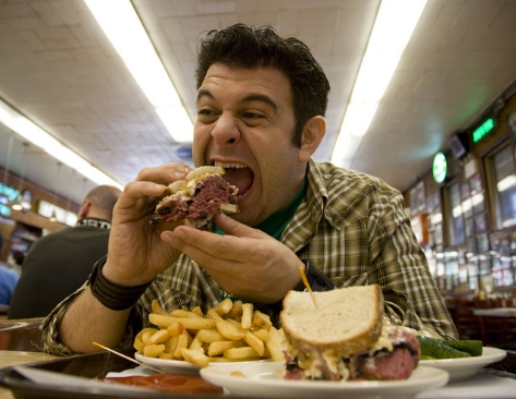 Adam Richman's Fast Food Filth: Man v Food's dangerous message