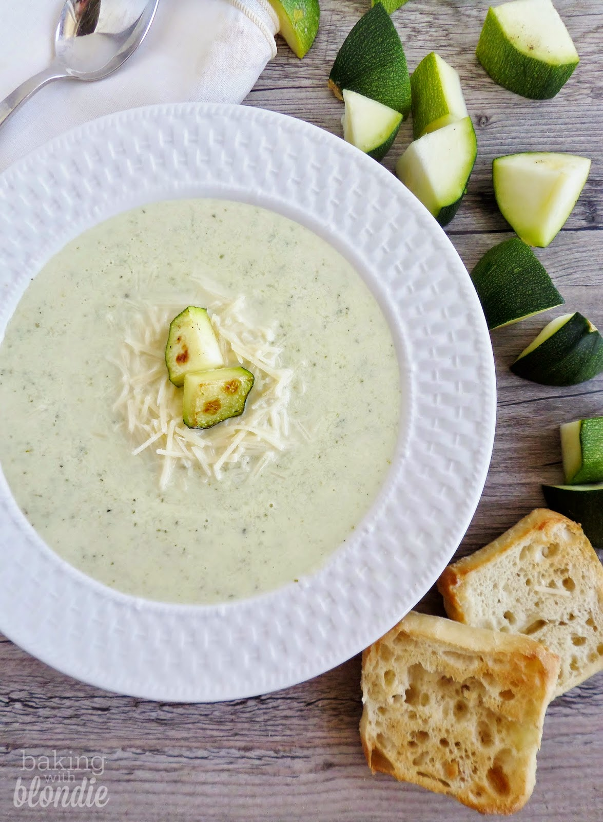 Roasted Zucchini Bisque